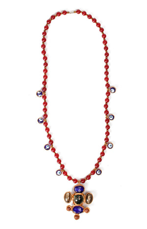 Ramayana Necklace- Ruby