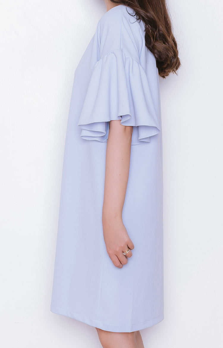 Nana Dress in Powder Blue