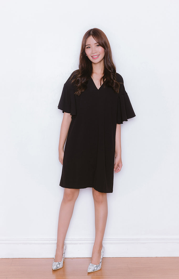 Nana Dress in Black
