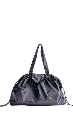 Plain Black Infinity Bag