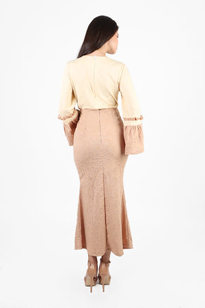 Iman Kurung Top and Maxi Skirt Set