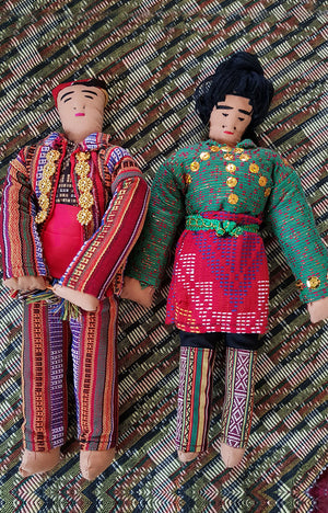 Yakan Pair of Dolls