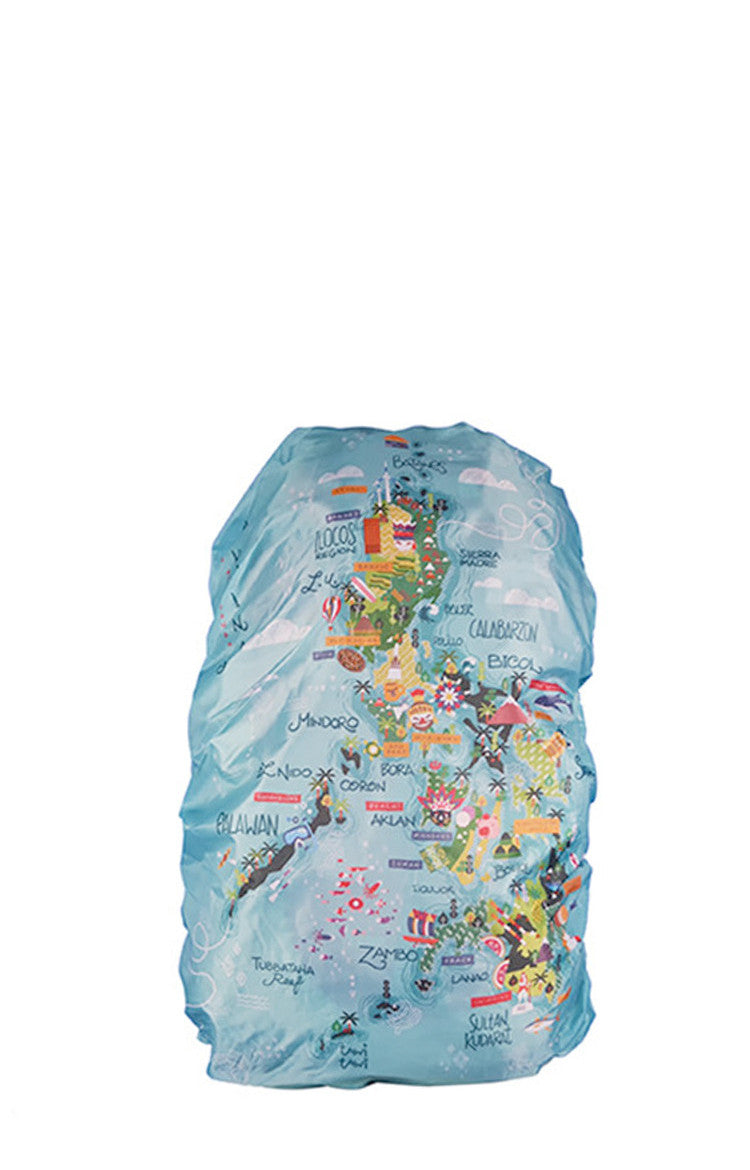 Map of the Philippines Backpack Cover