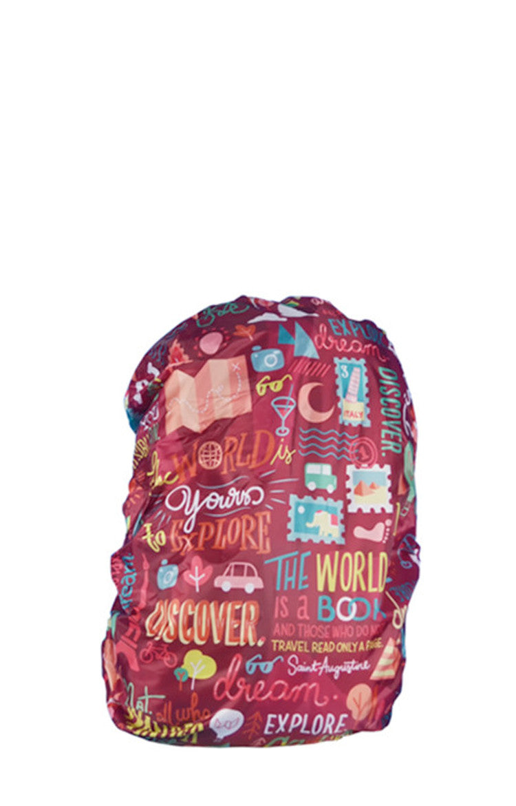 Quote Guru Backpack Cover