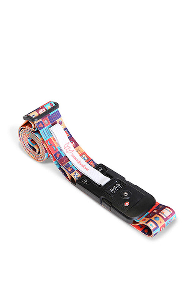 Philippine Icons Luggage Strap with Digital Weighing Scale