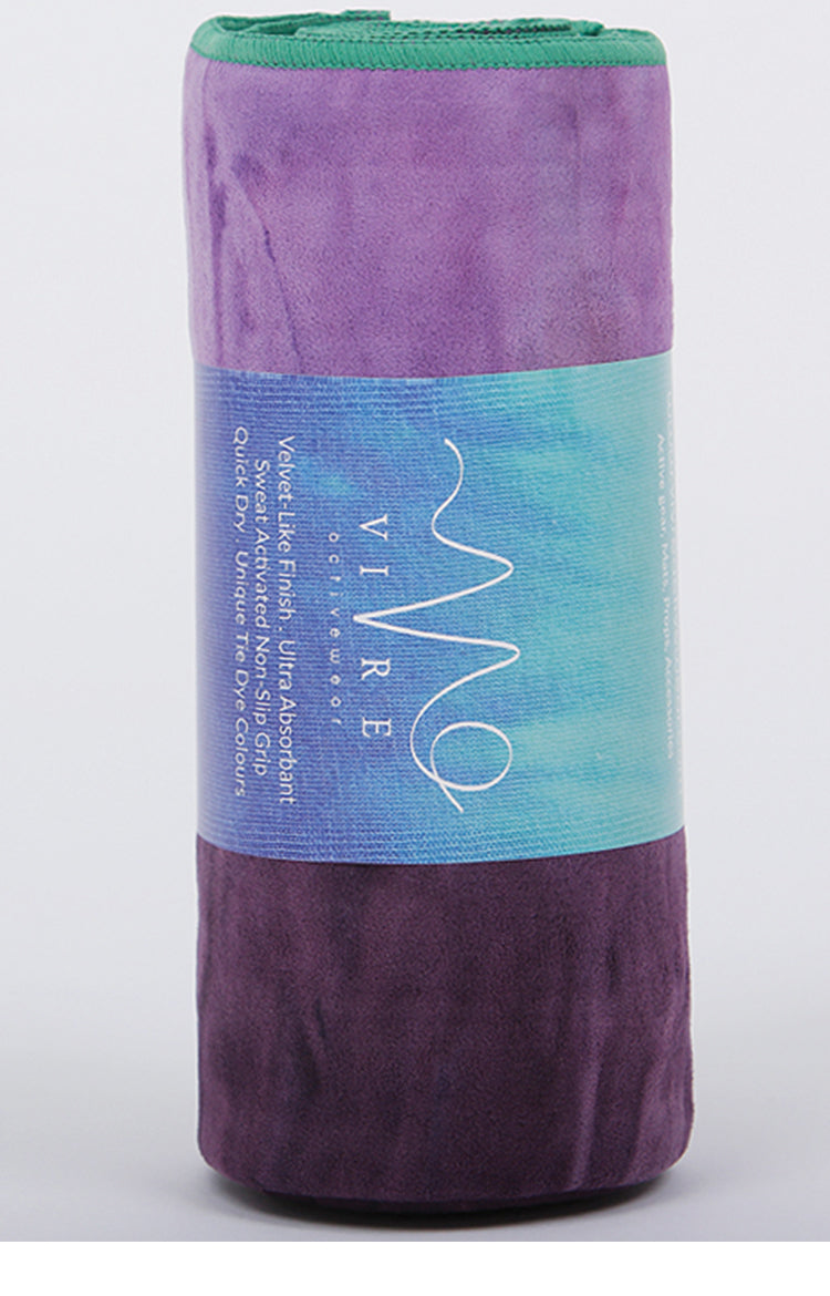 Unicorn Active Power Grip Yoga Towel in Astral Aura