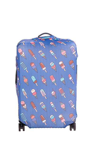 Brain Freeze Luggage Cover