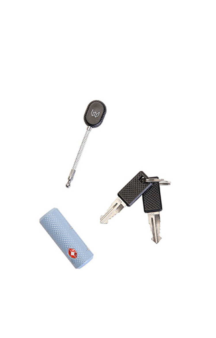 Gray Blue TSA-K Travel Lock
