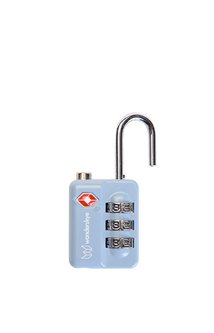 Gray Blue TSA-S Travel Lock
