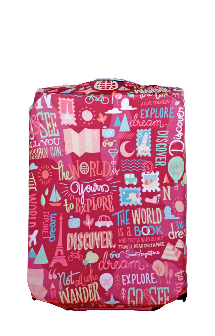 Quote Guru Luggage Cover
