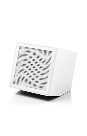 Prism Rechargable Speaker - White