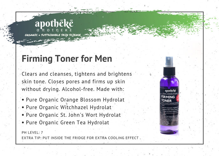Firming Toner for Men