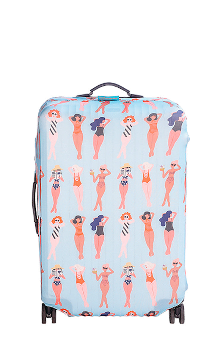 Cheeky Chikas Luggage Cover