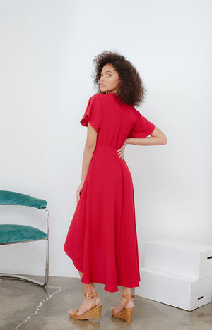 JMK Boho Maxi Dress in Marsala