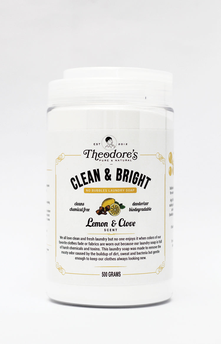 Clean and Bright No Bubbles Laundry Soap
