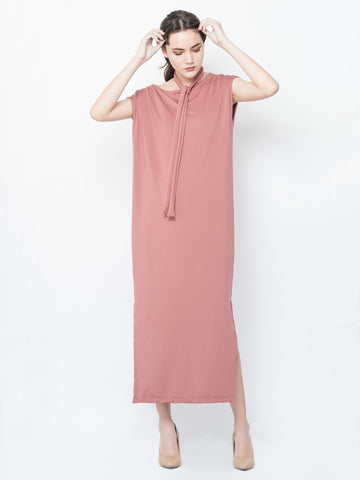 Lena Maxi Dress in Old Rose