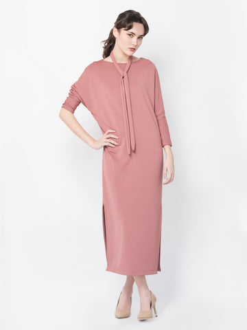 Gema Maxi Dress in Old Rose