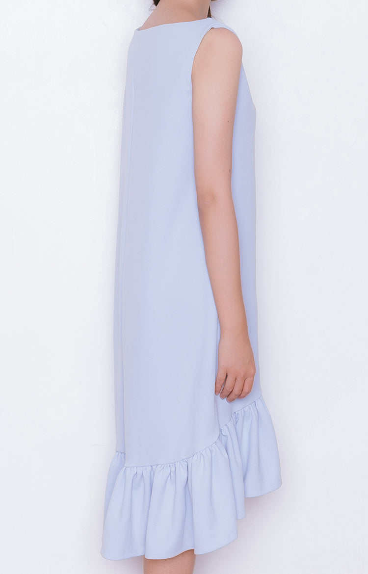 Haru Dress in Powder Blue