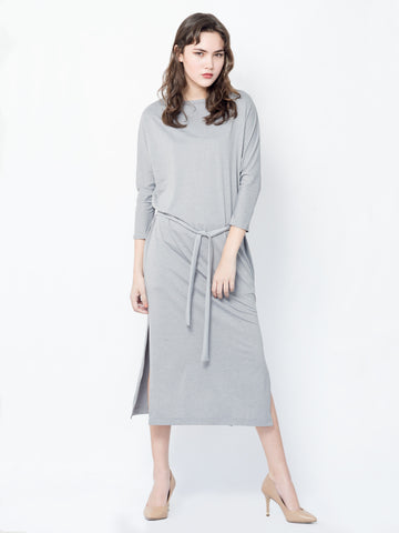 Gema Maxi Dress in Grey