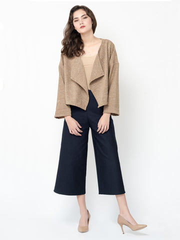 Cropped Oversized Fiona Jacket