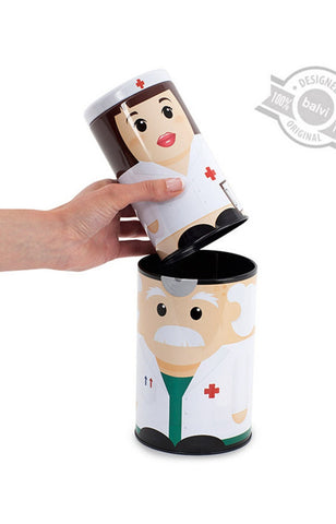 Dr. and Nurse Medicine Box