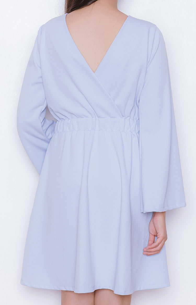 Koi Dress in Powder Blue