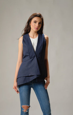 Lani Top - Blue