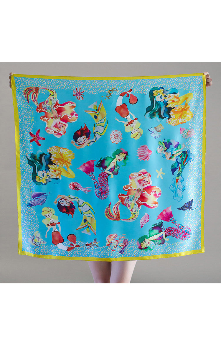 Mermaid Kisses Scarf