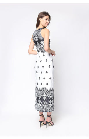 Giada Maxi Dress White