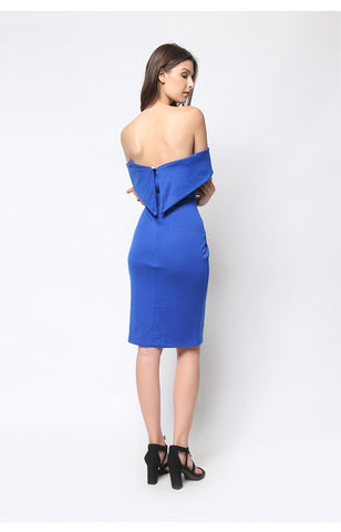 Alegra Dress Royal Blue