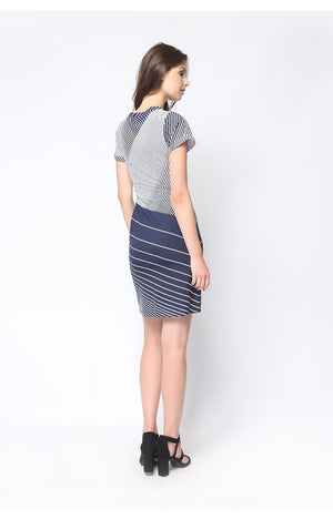 Brooklyn Dress Navy Blue