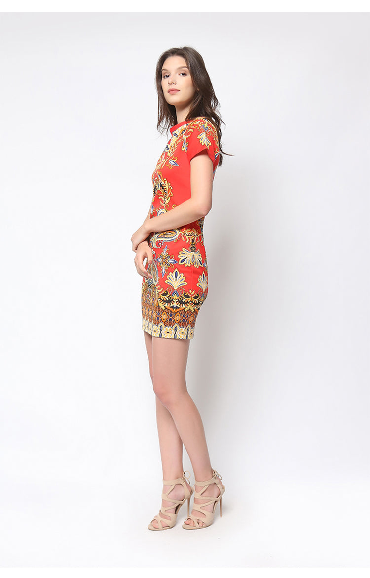 Kimberly Dress Red