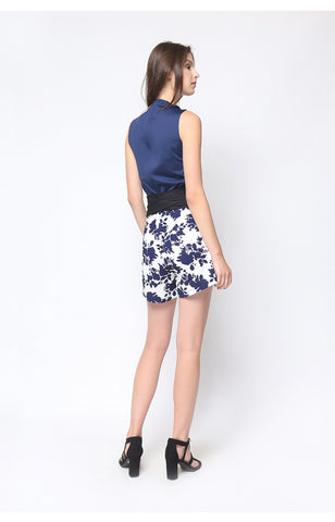 Alexia Playsuit Navy Blue