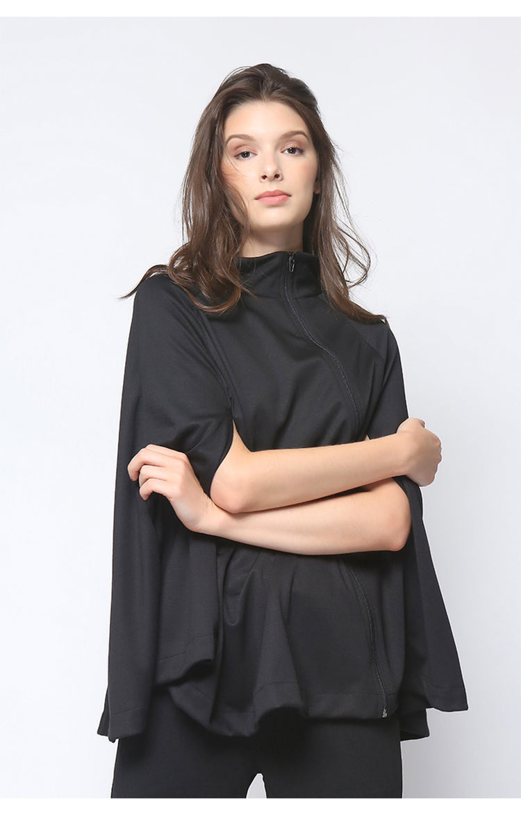London Cape Top Black