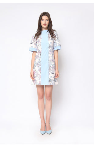 Berlin Dress Powder Blue