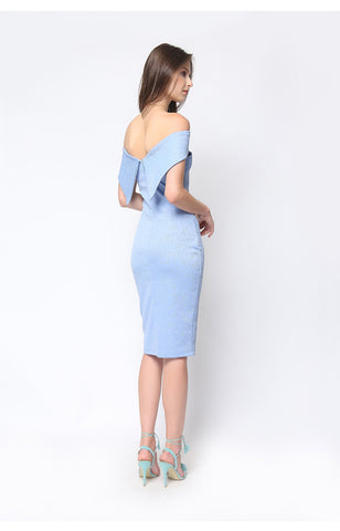 Alegra Dress Powder Blue
