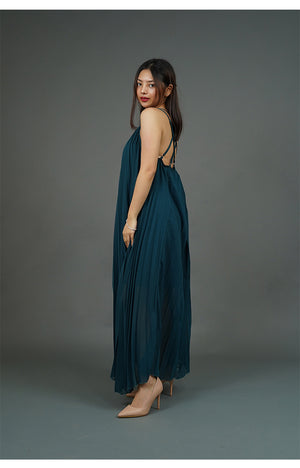 Bluegreen Maxi Dress