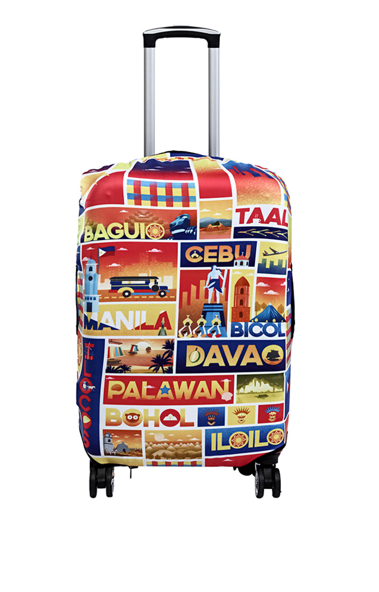 Wanderskye Across the Towns Reversible Luggage Cover