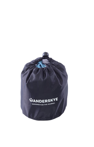 Wanderskye Blue Memory Foam Neck Pillow