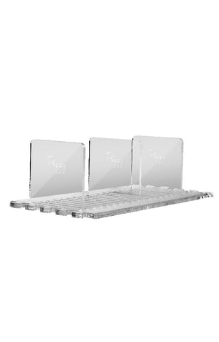 ACRYLUXE SHELVING SYSTEM 9""