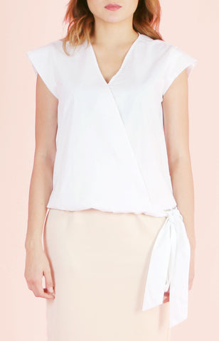 Blouse Cosette-White