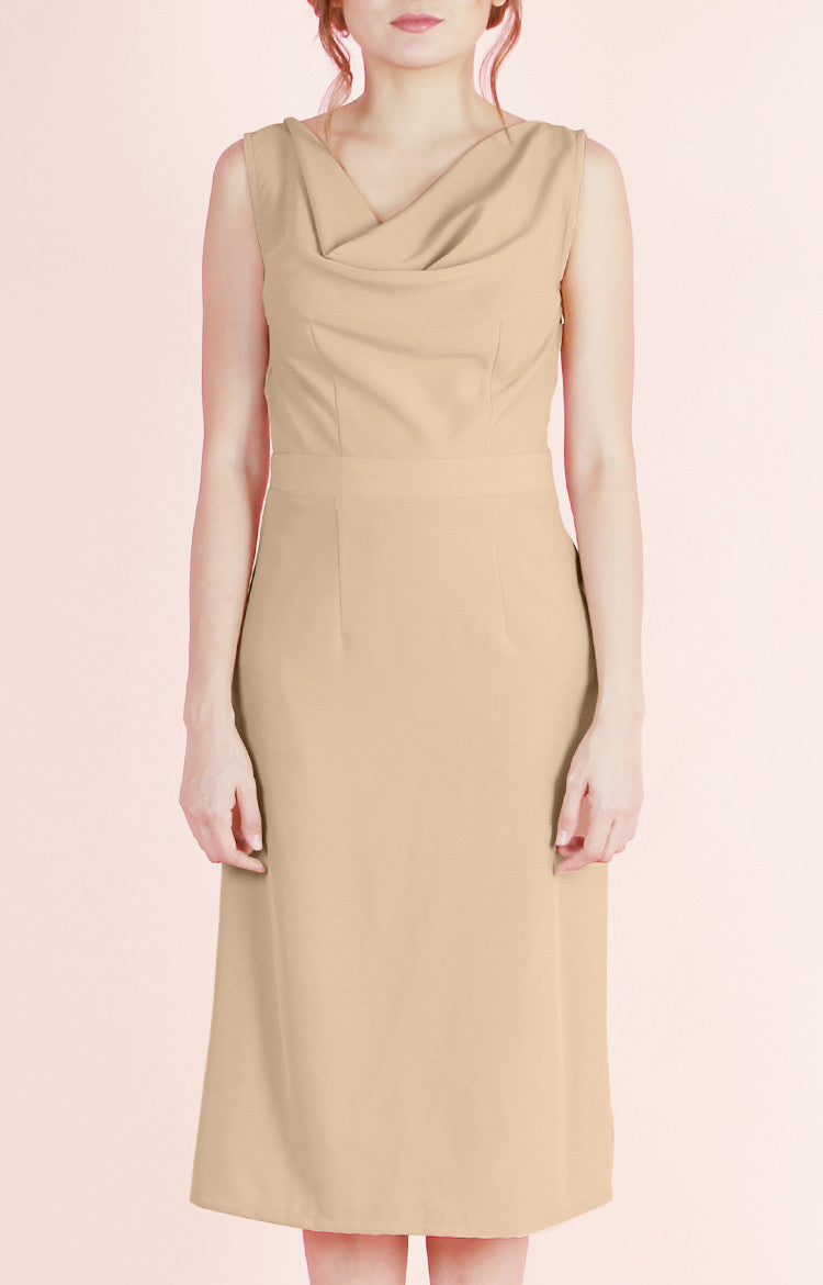 Cowl Neck Dress Audrey