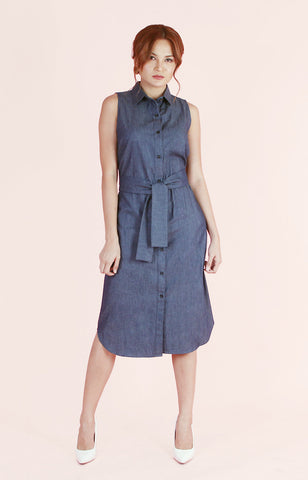 Chambray Dress Kelly