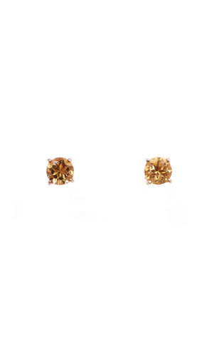 Round & Oval Citrine Separates Earrings