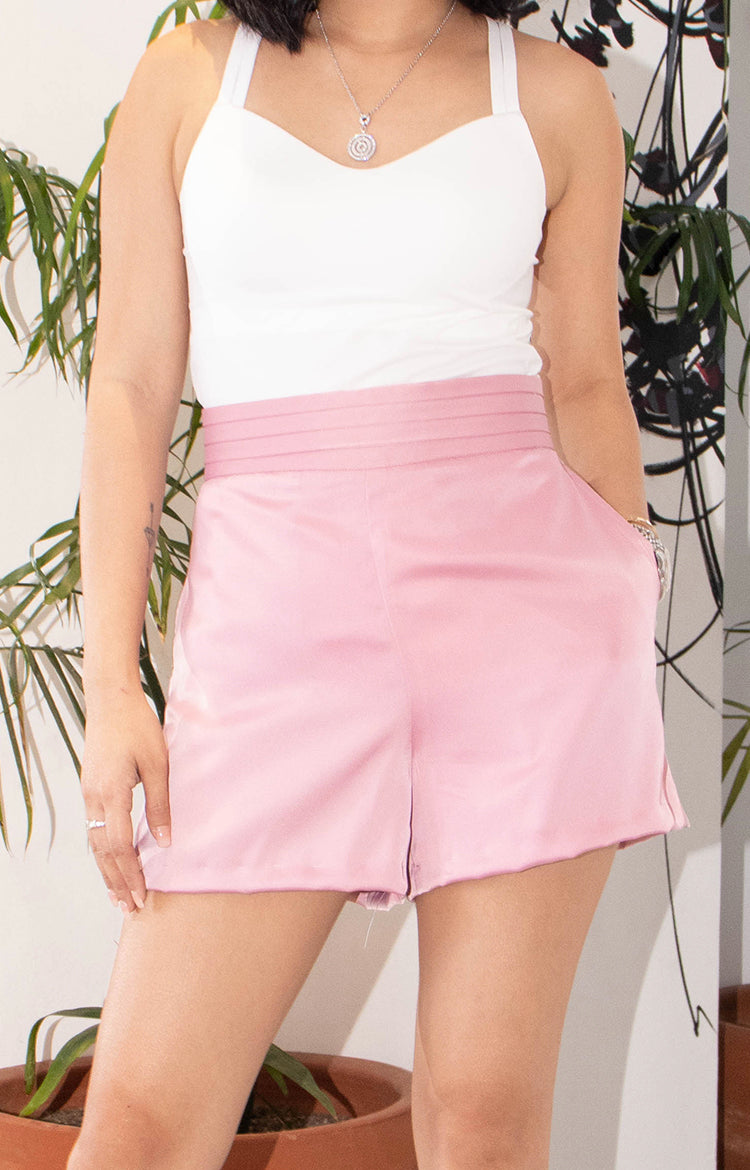 George Shorts in  Pink