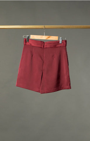 George Shorts in  Maroon
