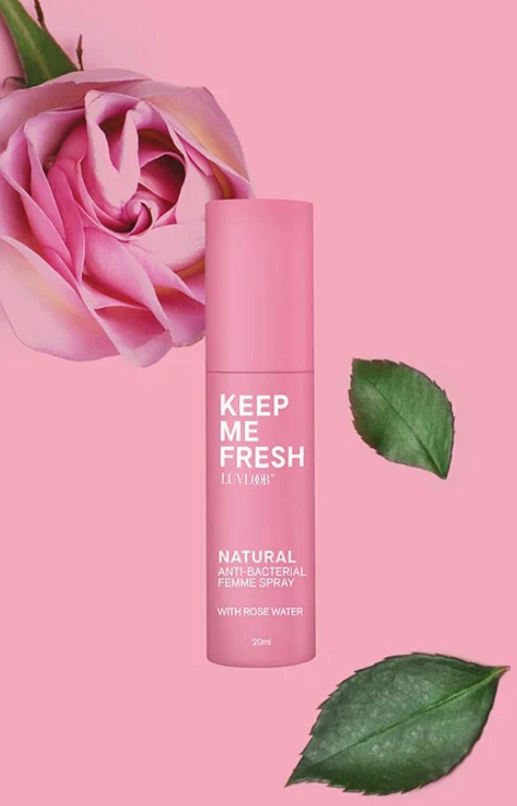 Anti-Bacterial Femme Spray with Rose Water