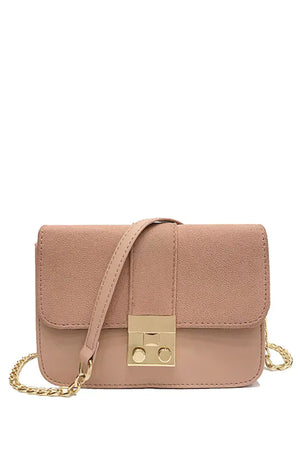 Charlotte Sling Bag in Blush Pink