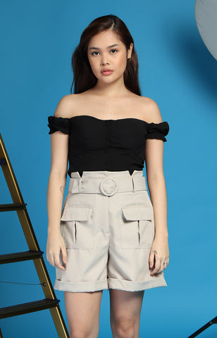 Luna Top in Black