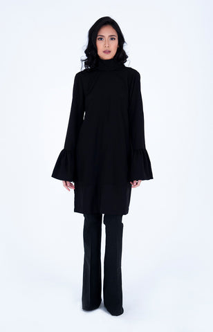 Bengt Enrique Lulea Crepe Tunic in Black